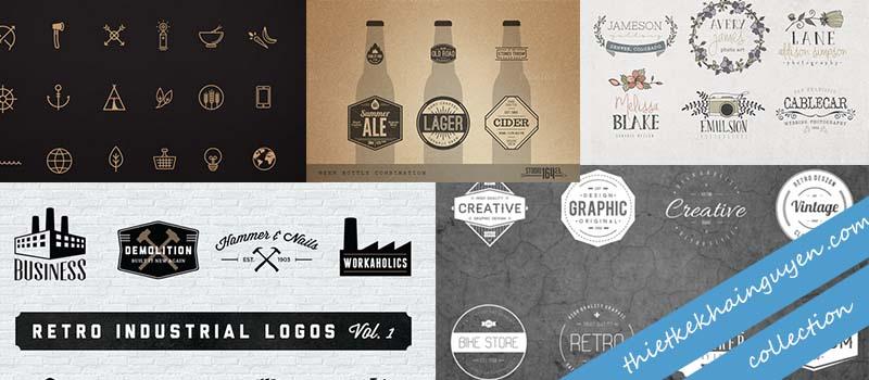 Thiết kế logo vintage - phong cách cổ điển