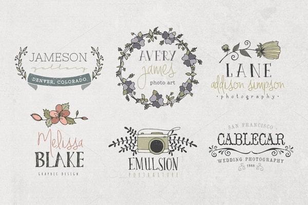 Những mẫu thiết kế logo vintage dạng vẽ tay cực đẹp