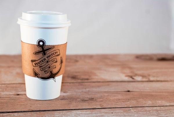 logo Water-Witch Coffee&Tea - sự kết hợp hình tượng mới lạ