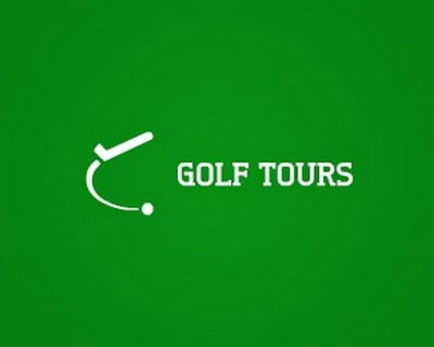 Mẫu thiết kế logo du lịch của công ty Golf Tours