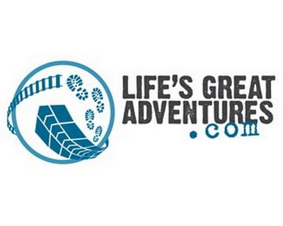 Logo công ty du lịch LIFE'S GREAT ADVENTURES