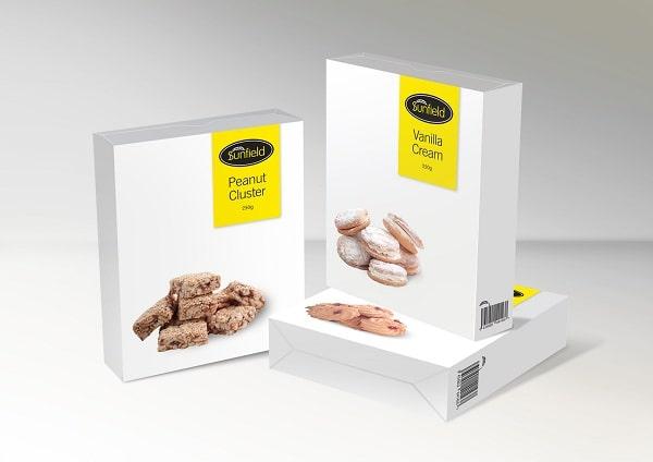 Thiết kế hộp bánh quy đơn giản trang nhã