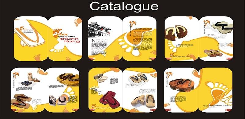 Thế nào là mẫu catalogue sáng tạo chuyên nghiệp