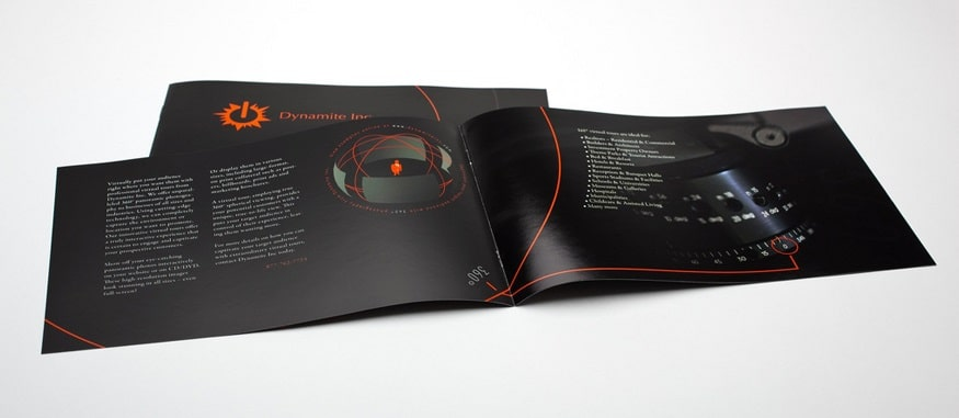 Bộ thiết kế brochure đơn giản sáng tạo