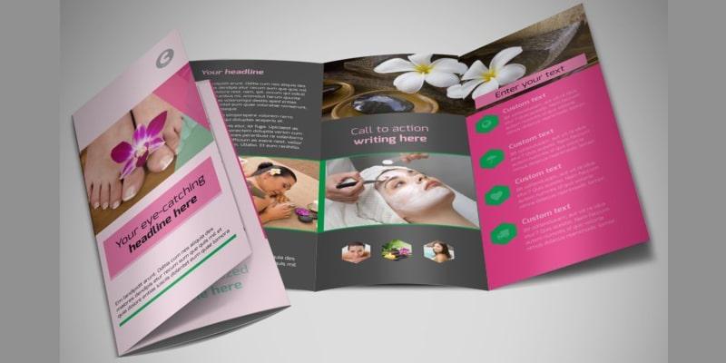 In brochure spa cực đẹp tai tphcm