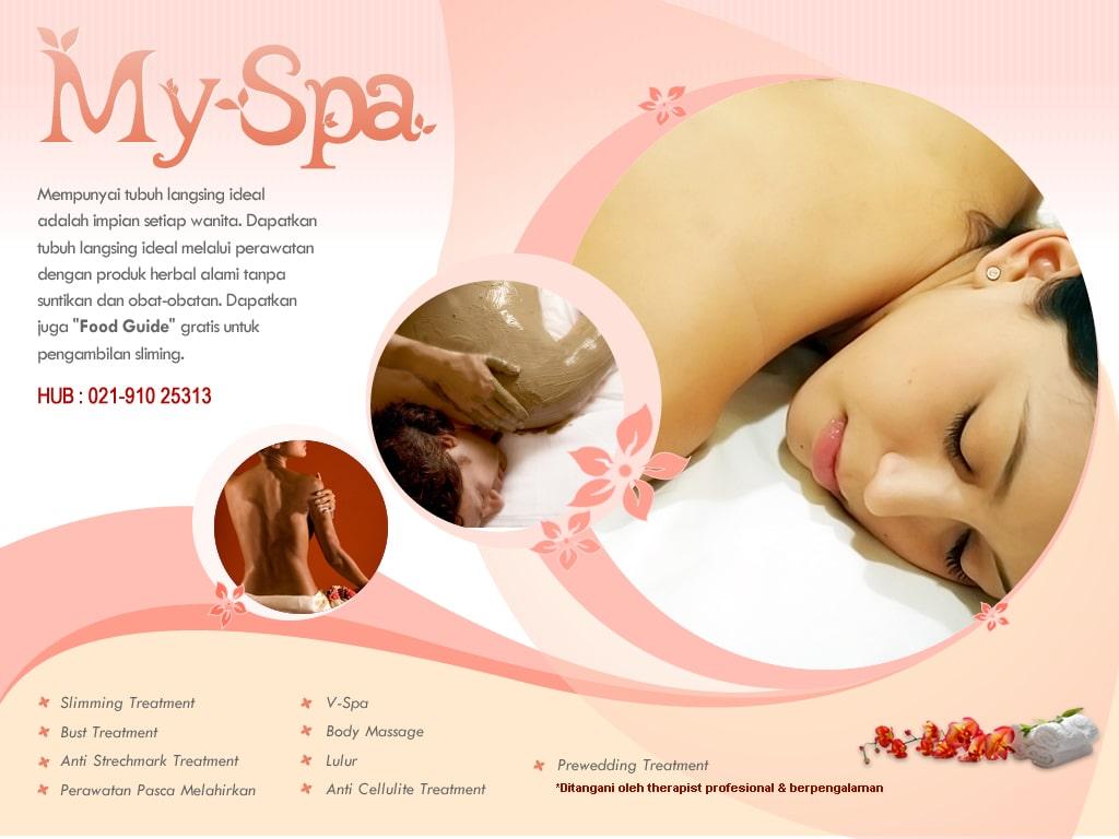 Mẫu in brochure spa salon màu sắc nhẹ nhàng
