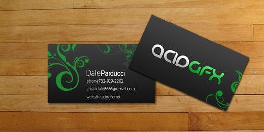 Mẫu in card visit doanh nhân ép kim màu xanh.