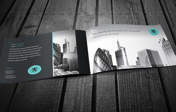 Bộ thiết kế brochure bất động sản Singapore ấn tượng