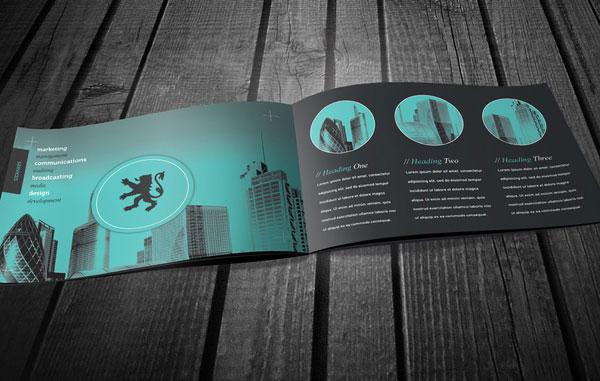 Bộ thiết kế brochure bất động sản đơn giản và ấn tượng