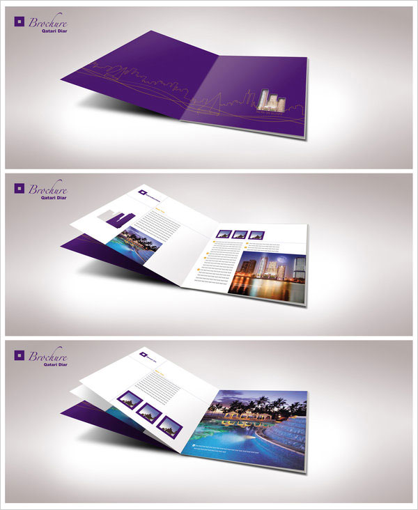 Brochure giới thiệu khu liên hợp nhà hàng, khách sạn, khu nghĩ dưỡng cao cấp