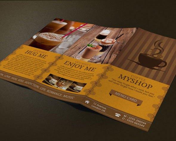 Mẫu thiết kế brochure flyer ấn tượng