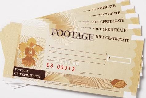Mẫu in voucher Foot Spa bằng giấy mỹ thuật