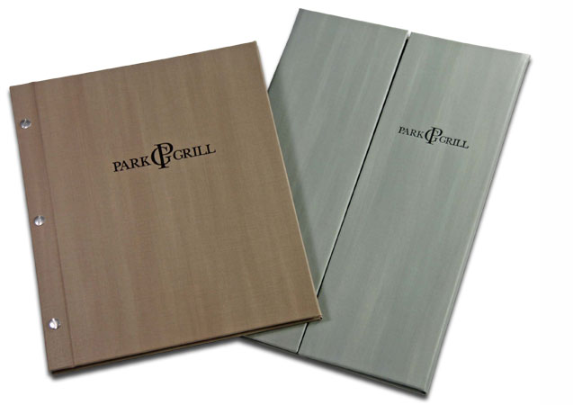 Mẫu menu cover, menu holder