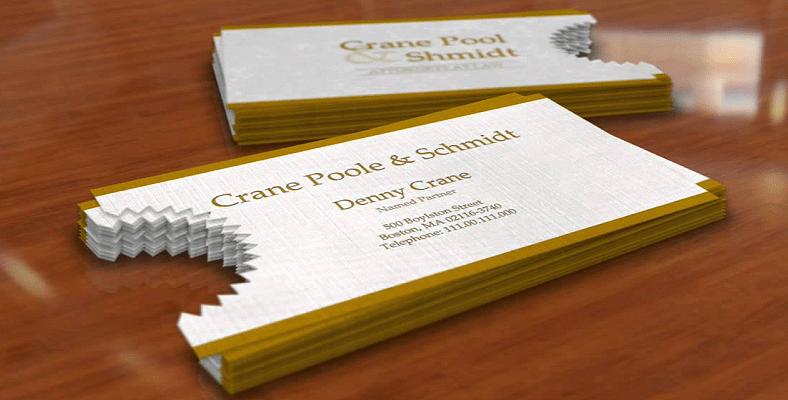 Mẫu in name card độc đáo