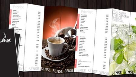 Mẫu thiết kế menu cafe mới nhất từ Khải Nguyên
