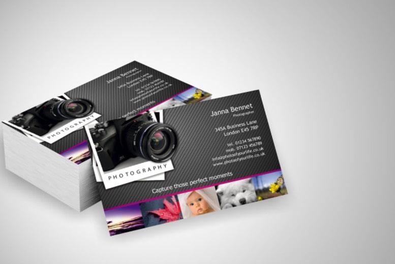Thiết kế card visit sáng tạo dành cho nhiếp ảnh gia