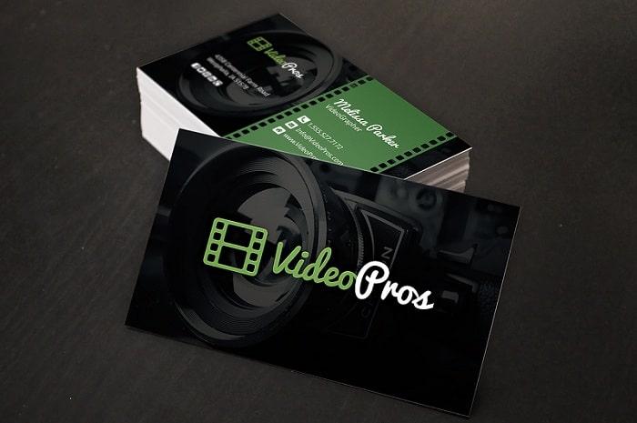 Mẫu thiết kế card visit videopros