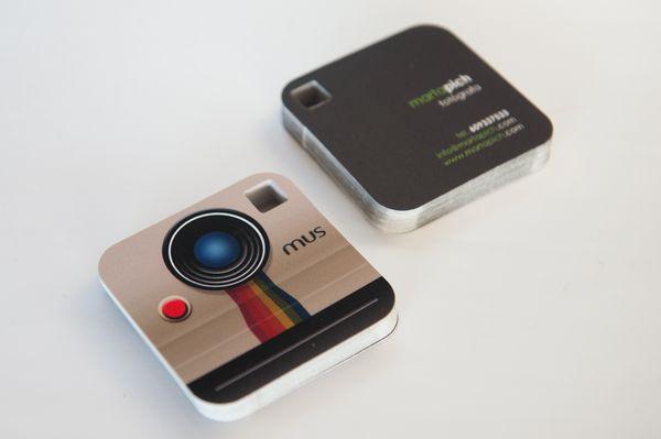 Thiết kế Namecard sáng tạo dành cho nhiếp ảnh gia