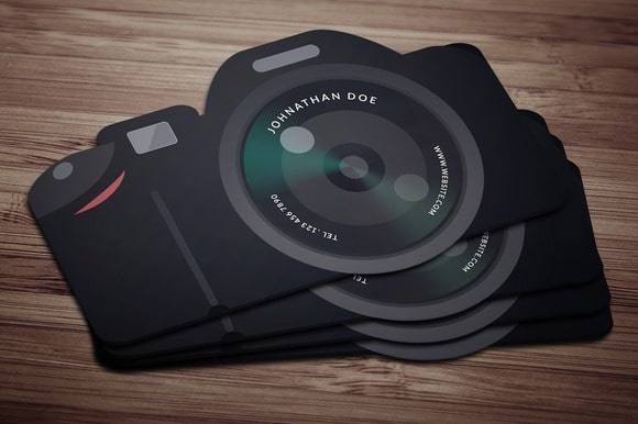 Mẫu namecard sáng tạo dành cho nhiếp ảnh gia