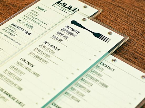 xu hướng minimalist menu