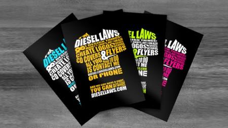 Thiết kế card visit chuyên nghiệp với phong cách Typography