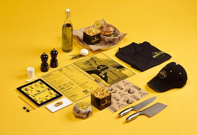 Gói thiết kế in ấn cho quán ăn