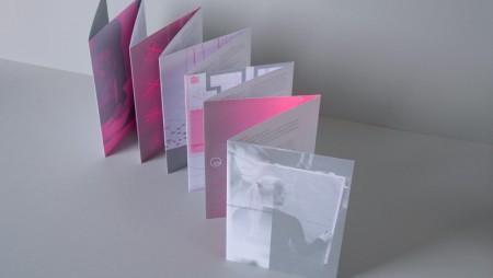 Thiết kế brochure gấp phá cách và sáng tạo