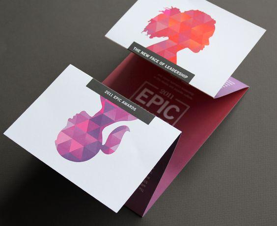 Mẫu thiết kế brochure gấp sáng tạo