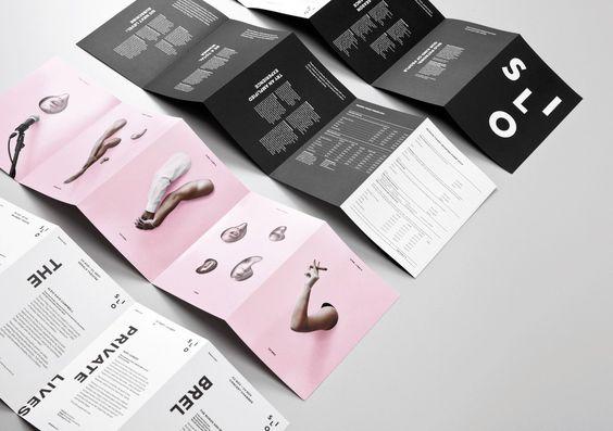 Mẫu thiết kế brochure gấp 5 ấn tượng của sự sáng tạo