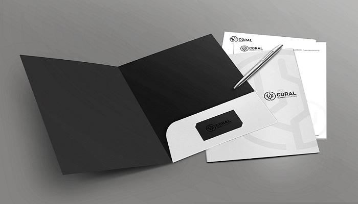 Tùy theo kích thước card visit mà thiết kế đường cấn phù hợp