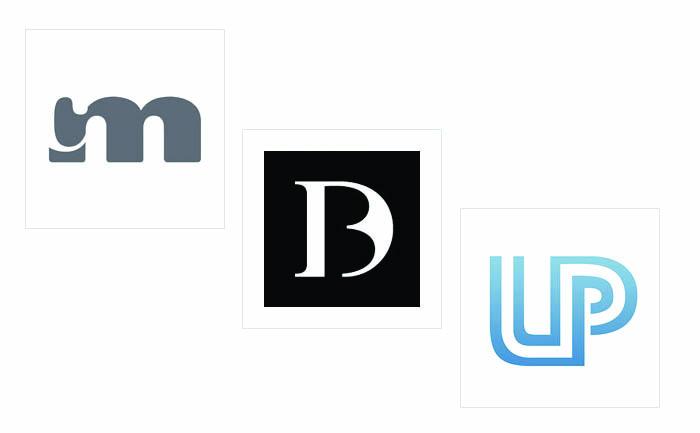 logo-lettermark Thiết kế logo chữ sử dụng khoảng âm