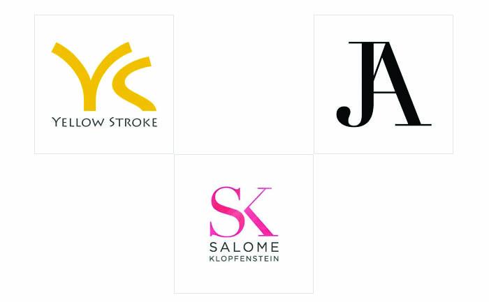 Thiết kế logo chữ - thiết kế logo cắt nối chữ