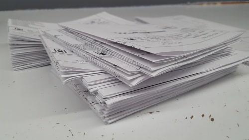 In tài liệu trắng đen