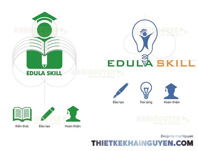 Logo Edula skill