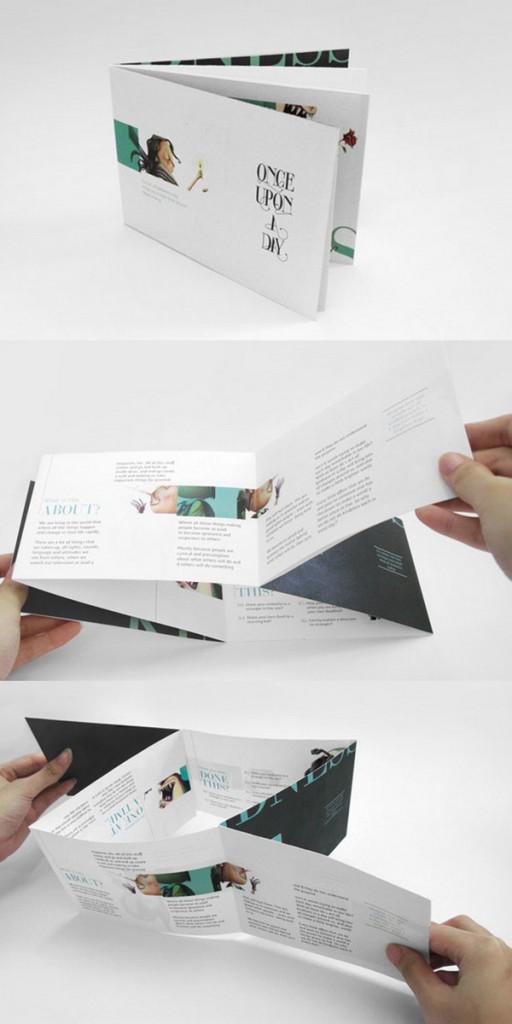 In brochure gấp đặc biệt ấn tượng