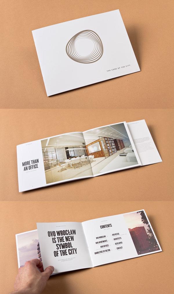 Mẫu in brochure đặc biệt - in brochure lồng