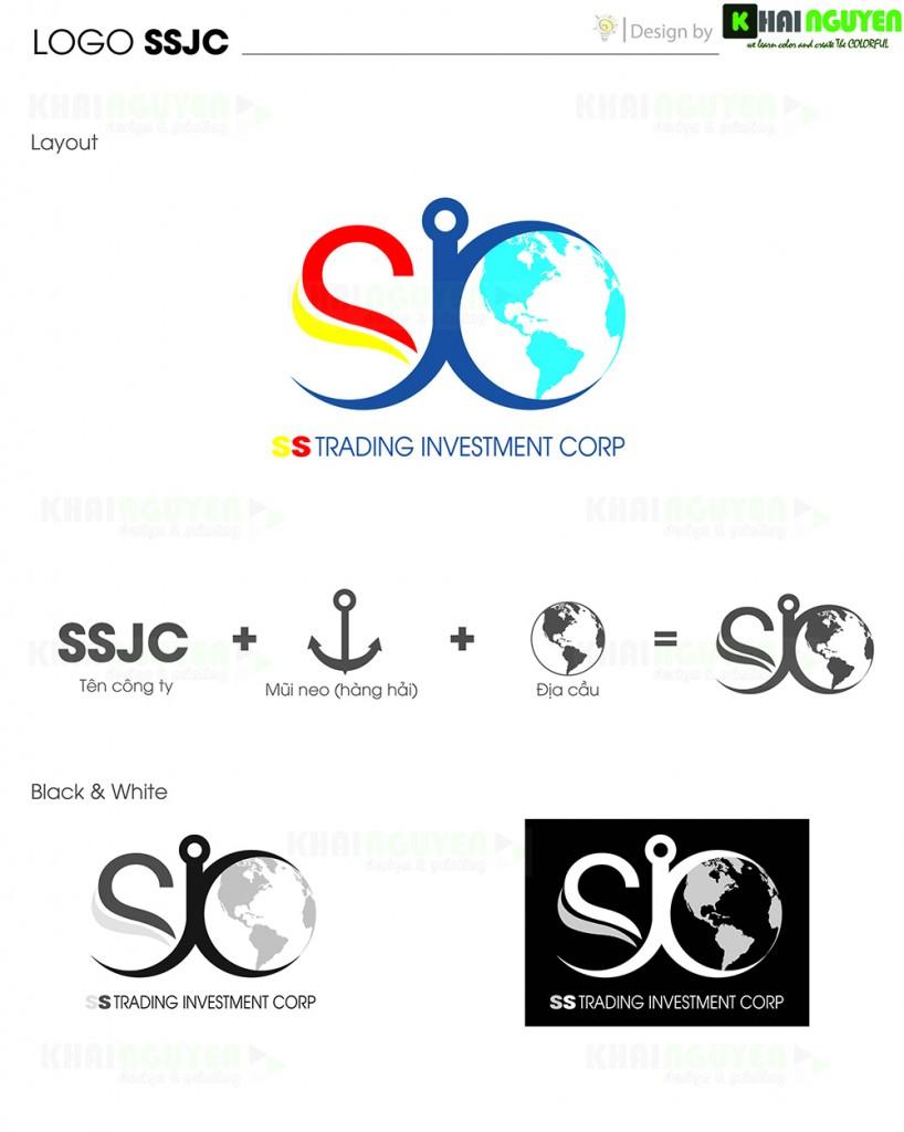 Logo công ty SSJC