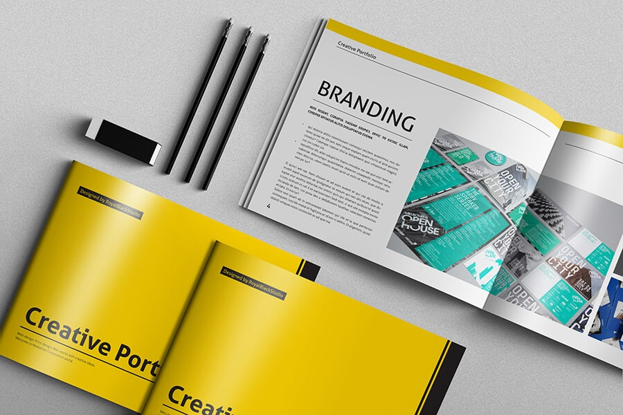 Thiết kế catalogue đẹp bằng cách tối giản