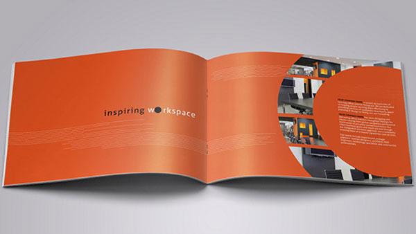 Trang ruột catalogue sử dụng cách phổi hình ấn tượng