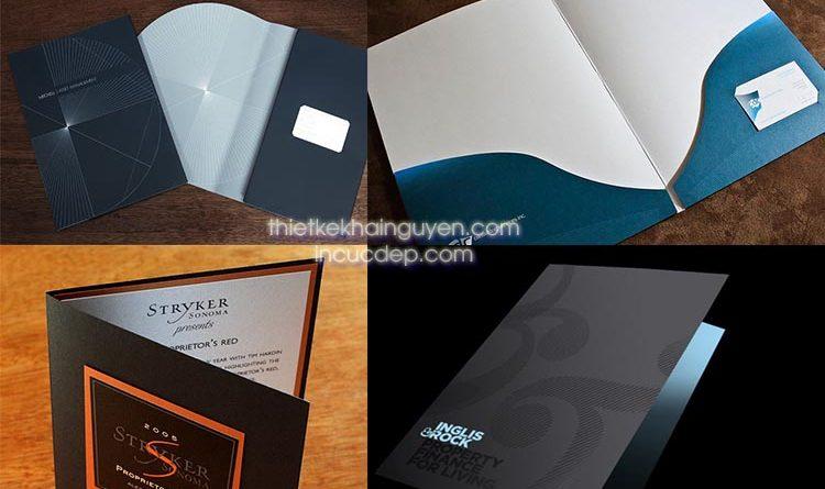 In folder cao cấp - in bìa hồ sơ giấy mỹ thuật