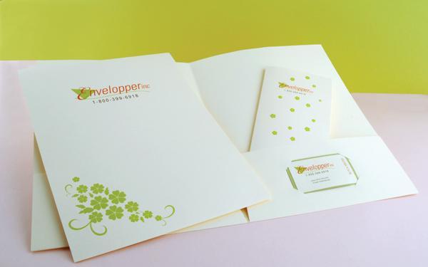 In folder bằng giấy mỹ thuật - folder cao cấp