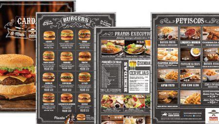 Thiết kế & in menu thức ăn nhanh – fast food menu