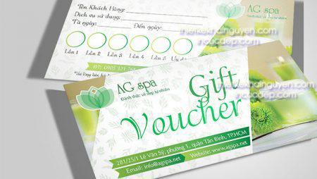 Mẫu phiếu quà tặng – gift voucher – Gift Certificates siêu đẹp