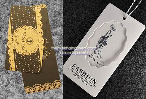 Mẫu thiết kế thẻ treo giấy mỹ thuật