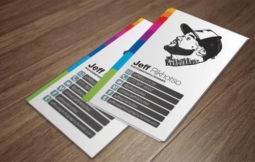 In nam card cho công ty - name card cho nhân viên
