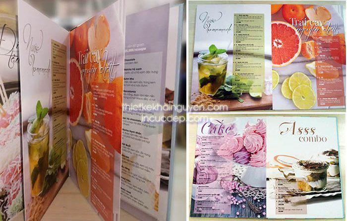 Menu photobook tại hcm. Địa chỉ in menu photobook duy nhất