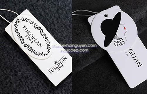 Thiết kế thẻ treo dạng đôi