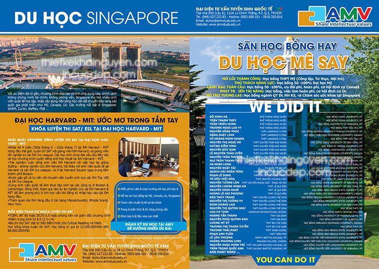 Brochure giới thiệu tư vấn du học làm việc tại nước ngoài