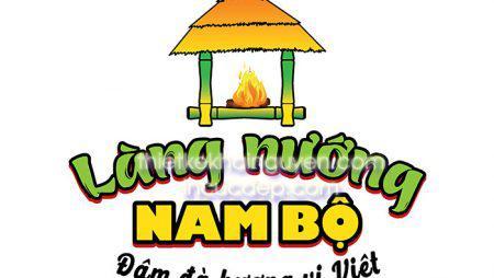 Bộ nhận diện làng nướng NAM BỘ. Menu gỗ, card visit, brochure