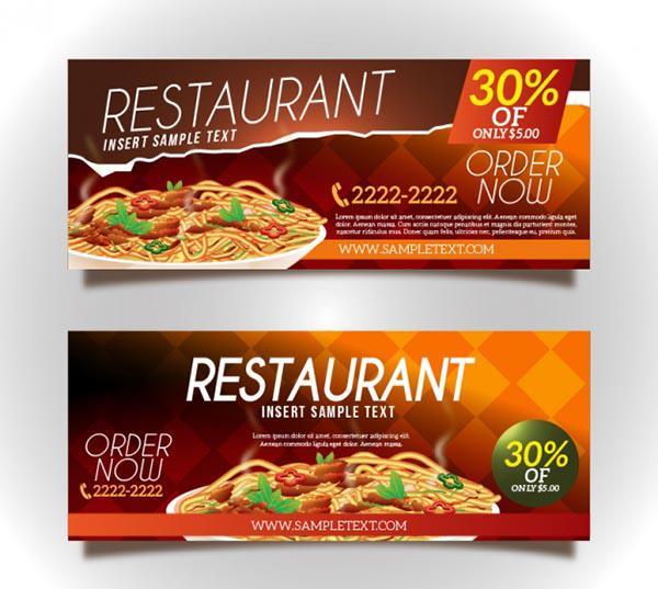 Mẫu thiết kế voucher nhà hàng số 3